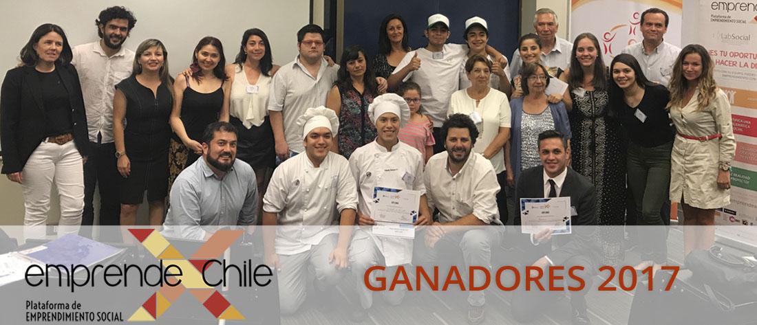 Emprende X Chile - Ganadores 2017