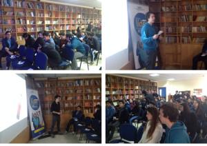 Charla Colegio Santa Teresa de los Andes