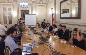Almuerzo con el intendente Claudio Orrego