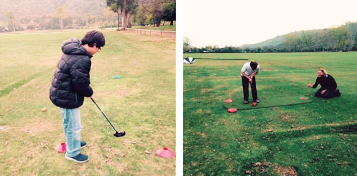 Golf up