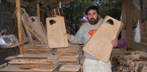 Raúl - artesano mapuche