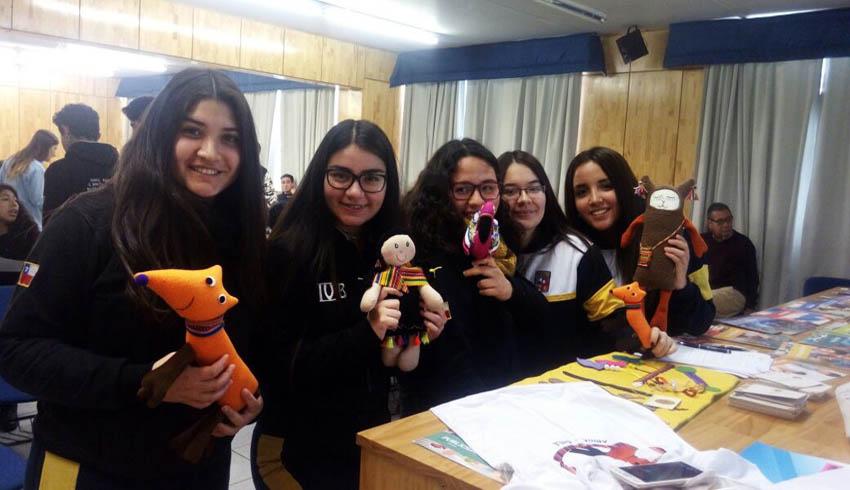 Charla en Colegio San Marcos de Arica