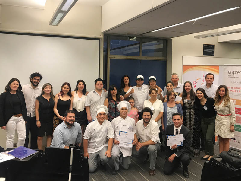 Ganadores Emprende X Chile 2017