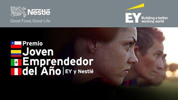 Nestlé y EY abren convocatoria para premiar a jóvenes emprendedores de los países de la Alianza del Pacífico
