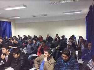 Charla de EmprendeXChile en colegio IP Chile